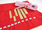 Della Q Double Point Knitting Needle Roll #158-1 - Madison