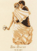 Vervaco Counted Cross Stitch Kit - Wedding Record Private Moment