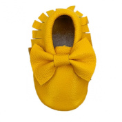 Lookatool Kids Tassel Soft Sole Leather Shoes Infant Boy Girl Toddler Moccasin