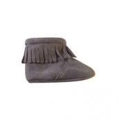 Suede Fringe Baby Boots (0-6 month