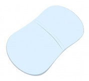 SheetWorld Fitted Bassinet Sheet (Fits Halo Bassinet Swivel Sleeper) - Organic Baby Blue Jersey Knit - Made In USA