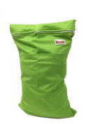 BB2 Large Solid Colour Wet/ Dry Water Resistant Travel Grab & Go Cloth Nappy Bag