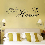 Livining Room Wall Stickers for Family and Home for Dining Room DIY Home Decorations Wall Decals 9348