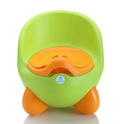 Lil' Jumbl Baby Egg Potty With Cover - Green