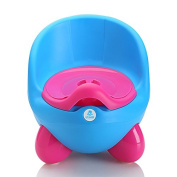 Lil' Jumbl Baby Egg Potty With Cover - Blue