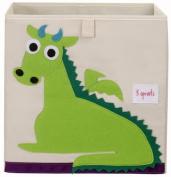 3 Sprouts Storage Box, Green Dragon