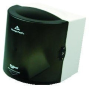 GPC 582-01 SofPull Centre Pull Towel Dispenser, 10-7/8w x 10-3/8d x 11-1/2h, Smoke, Each