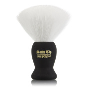 ~Shave Brush~ Satin Tip The Purest - Luxury Synthetic Shave Brush White