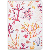 Coral Handmade Embroidered Journal