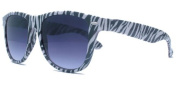 About Eyes SR366 Zebra Black / White 400 UV Protection Sunreaders - Strength + 1.00 with Pouch