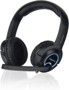 XANTHOS Stereo Console Gaming Headset - For PS3/PS4/Xbox 360/PC, Black