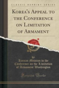 Korea's Appeal to the Conference on Limitation of Armament