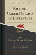 Richard Coeur de Lion in Literature