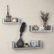 Danya B. XF11039GR U Shelves, Grey