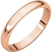Rose Gold Half Round Light Bands