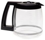 Cuisinart DCC-1200PRC 12-Cup Replacement Glass Carafe, Black