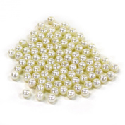 Koyal Wholesale 0.5kg Loose Pearls Table Decor Vase Filler, 10mm, Ivory