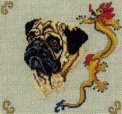 Pegasus Originals Pug Counted Cross Stitch Chart Pack