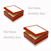 2 pcs Jewellery Boxs with Ceramic tile