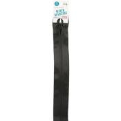 Coats Thread & Zippers Water-Resistant Closed Bottom Zipper, 36cm , Black