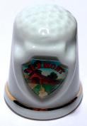 Vermont State Souvenir Collectible Lpco Thimble