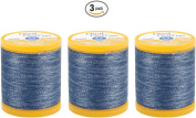 COATS & CLARK Dual Duty Plus Denim Thread, 125-Yard, Denim Blue
