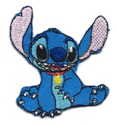 Stitch Alien experiment 1590cm Lilo and Stitch Movie Disney Embroidered Iron On for T-Shirt Patch Applique