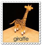 WoolPets Giraffe Needle Felting Kit