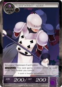 "Force of Will Card Soldier ""Spade"" TAT-075 C"