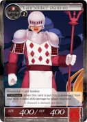 "Force of Will Card Soldier ""Diamond"" TAT-021 C"