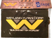 "SDCC 2015 Cosmic LootCrate Weyland-Yutani Corp. ""Building better worlds"" Alien vs. Predator Luggage Tag"