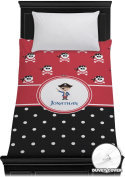 Pirate & Dots Duvet Cover (Personalised) - Toddler