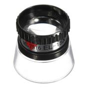 15X Monocular Magnifying Glass Loupe Lens Eye Magnifier
