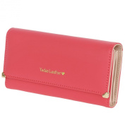 FUNOC® Synthetic Leather Women Wallet Purse Credit Card Clutch holder Case