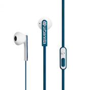Urbanista San Francisco ErgonoMic Earphones with Remote and Mic - Retail Packaging - Blue Petroleum/Blue