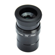 SWA 1.25inch 10mm Super Wide Angle 70 Degree Eyepieces for Astronomical Telescope - Five Elements Fully-coated High-index Glass - New Look and Internal Design - Easier to Grip Rubber Armour and New Eyecups