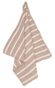 Angel Dear Chenille Blanket, Light Taupe/Ivory Stripe