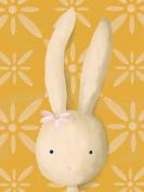 Oopsy Daisy Rae The Bunny Stretched Canvas Wall Art by Meghann O'hara, 46cm by 60cm