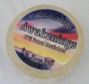 Awakenings 100% Natural Mentholated Shaving Soap