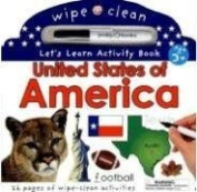 Wipe Clean United States Activity Atlas (Wipe Clean