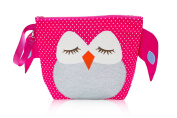 Nikiani Forever Young Collection Wet Bag & Backpack - Pink Polka Dot Owl