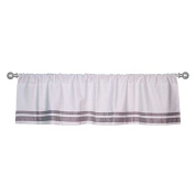 Just Born Window Valance, Grey