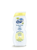 Dial Baby Body & Hair Wash Fragrance Free - 350ml