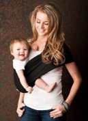 Seven Everyday Slings Infant Carrier Baby Sling Black Size 2 Xsmall