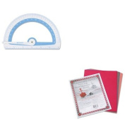 KITACM14376PAC103637 - Value Kit - Westcott Soft Touch School Protractor With Microban Protection (ACM14376) and Pacon Riverside Construction Paper