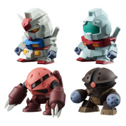 "Bandai Shokugan Build Model Gundam ""Mobile Suit Gundam"" Action Figure"