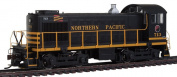 Bachmann ALCO S4 DCC Equipped Diesel Locomotive - NORTHERN PACIFIC #713