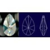 50mm Asfour 30% Teardrop Crystal Prisms #873-50