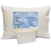 Calla Toddler Pillowcase, Organic Egyptian Cotton