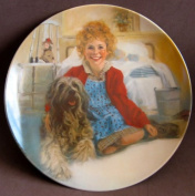 Little Orphan Annie China Collector Plate ANNIE and SANDY Limited Edition 1st Edition w Box, Booklet & Certificate of Authenticity